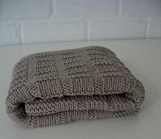 Örgü bebek battaniyesi modeli (anlatımlı)