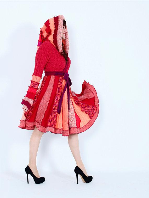 Mini etek örgü elbise modelleri