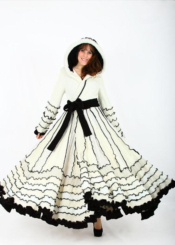 Örgü kiloş etekli elbise modeli