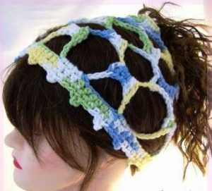 Ağ görünümlü örgü saç bandı modeli yapılışı anlatımlı