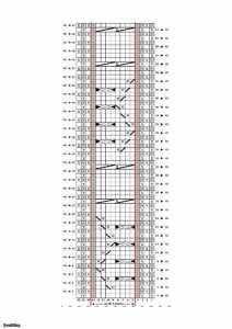 Tığ işi burgulu örgü şal atkı modeli yapılışı şemalı anlatımlı