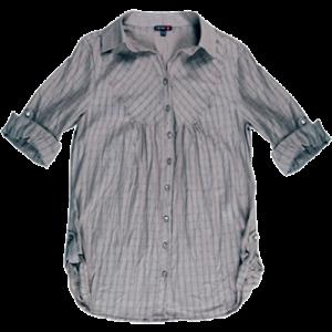Koton 2011 İlkbahar - Yaz Koleksiyonu - Yandan yırtmaçlı uzun gömlek modeli