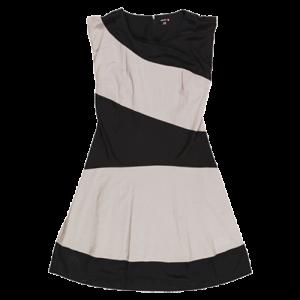 Koton 2011 İlkbahar - Yaz Koleksiyonu - Siyah-beyaz zebra desenli bayan elbisesi modelleri