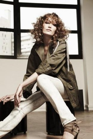 2011 'in Saç Kesim Modelleri ve Saç Renkleri - Soğan kabuğu rengi , kıvırcık saç ve kesim modelleri