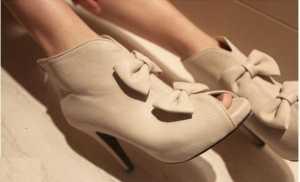2011 ' in ayakkabı modası - Açık burun fiyonklu ayakkabı modelleri
