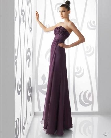 2011'in Mor veya Mürdüm Renkli Nişanlık - Abiye Modelleri