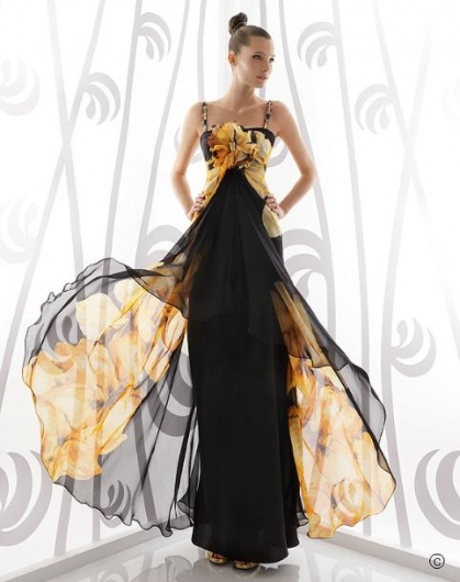 2011 Rosa Clara Kanatlı ve Astarlı Abiye - Nişanlık Modelleri