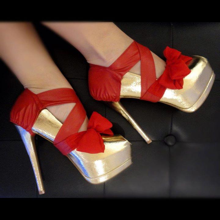 Bal Köpüğü Rengi Fiyonklu Platform Topuklu Ayakkabı Modelleri