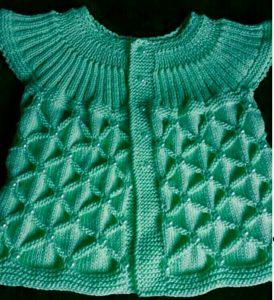 Robadan çapra motifli örgü bebek yeleği modeli yapılışı anlatımlı