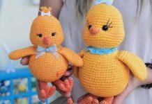 Amigurumi örgü oyuncak şirin ördek modeli tarifi anlatımlı