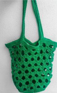 Tabanlı örgü çanta modeli yapılımı ayrıntılı anlatımlı