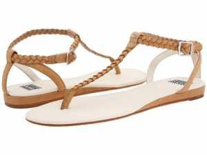 Lacoste parmak arası taba rengi sandalet modeli
