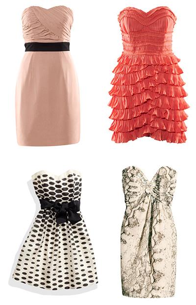 2011 Mezuniyet Giysileri Modası - 2011 Fırfırlı ve puantiyeli abiye modelleri
