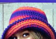 Ebruli kolay tığ işi şapka modeli yapılışı (anlatımlı)