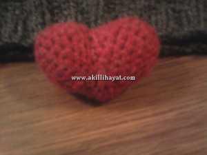 amigurumi kalp
