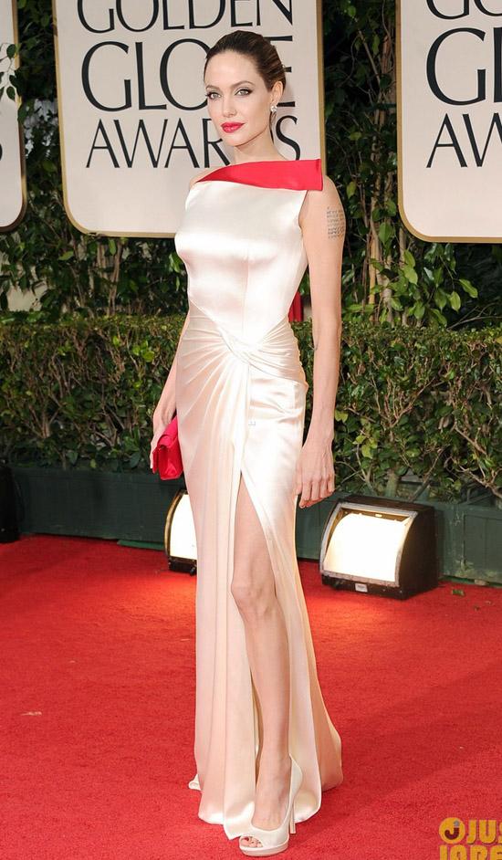 Golden Globes 2012 töreni - Angelina Jolie