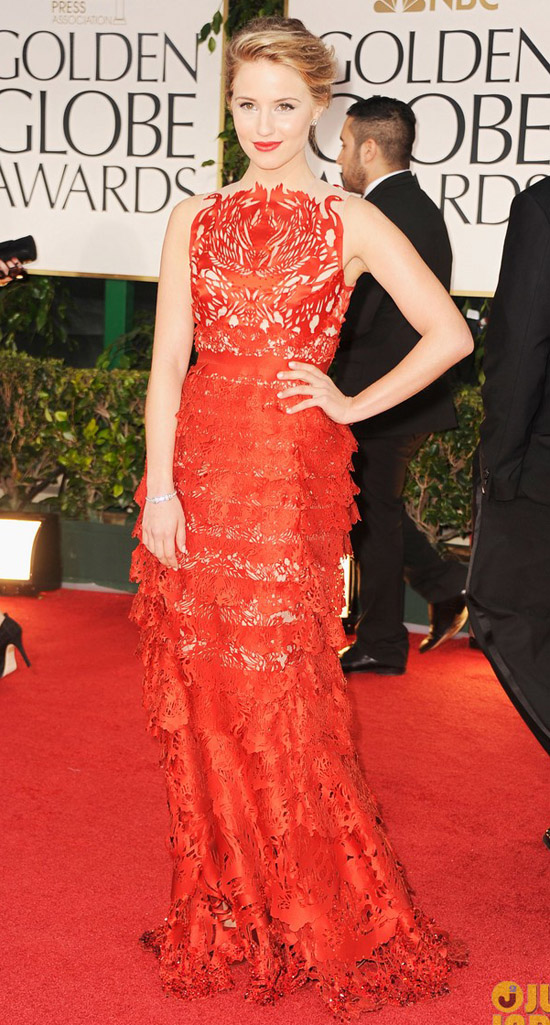 Golden Globes 2012 töreni - Dianna Agron