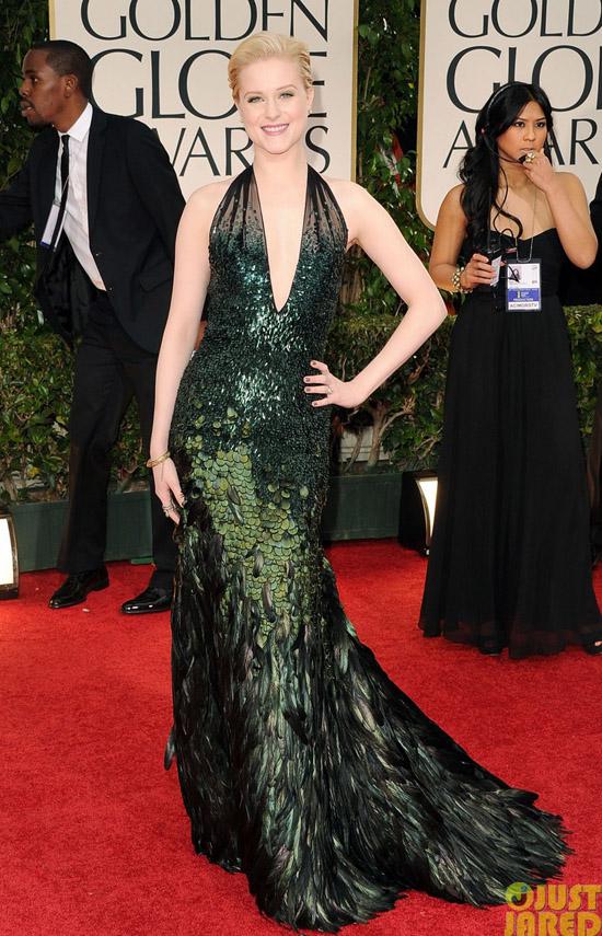 Golden Globes 2012 töreni - Evan Rachel