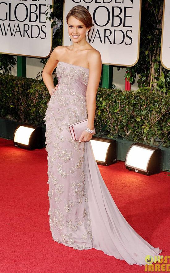 Golden Globes 2012 töreni - Jessica Alba