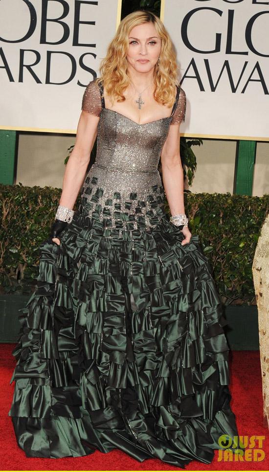 Golden Globes 2012 töreni - Madonna