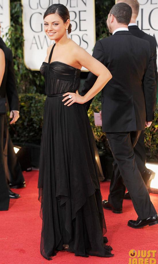 Golden Globes 2012 töreni - Mila Kunis