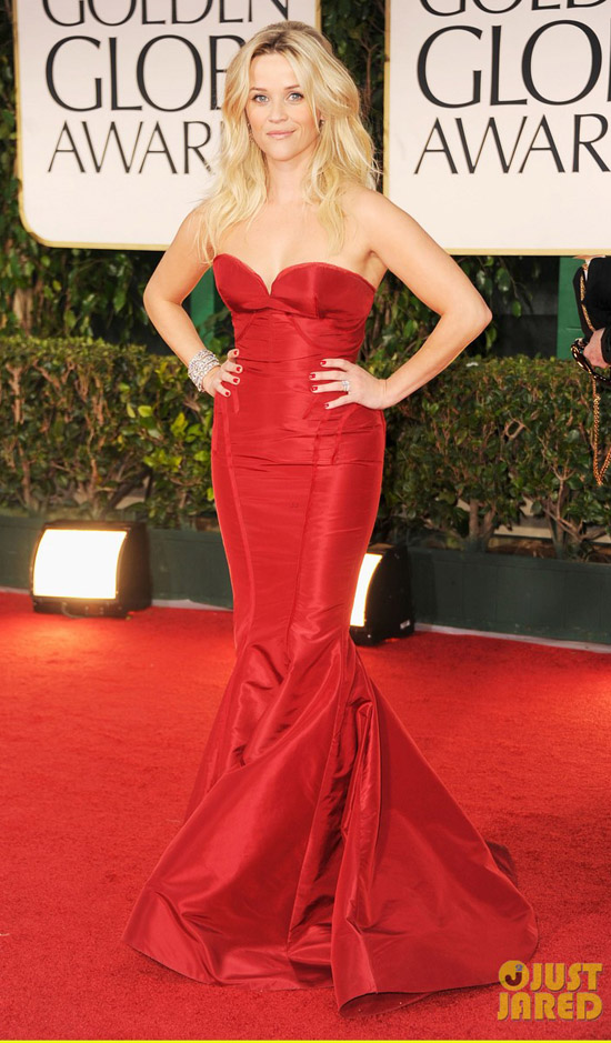 Golden Globes 2012 töreni - Reese Witherspoon