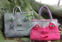 Sıradışı Keçe Çanta Modelleri