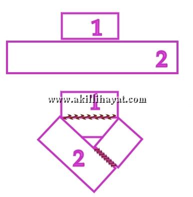 Şemalı ponponlu kolay panco modeli yapılışı (anlatımlı)