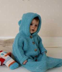 Kapişonlu kolay bebek tulumu yapılışı (anlatımlı)
