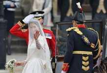 İngiltere Kraliyeti Düğün Töreni - Kate Middleton ' nun Şık Gelinlik Modeli