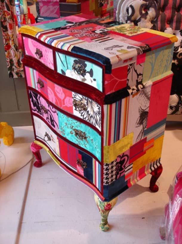 Telas Decoracion De Interiores ~ 2011 dekorasyon modasinda yeni trend ? PATCHWORK Mobilyalar