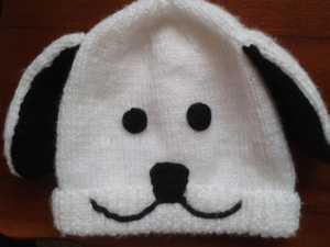 Köpek figürlü kulaklı örgü bebek beresi modeli yapılışı anlatımlı