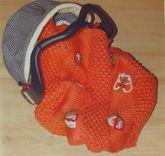 Nohut Örgü bebek battaniyesi modeli yapılışı