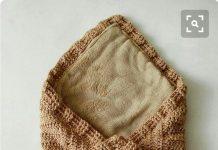 Zarf şeklinde örgü bebek battaniyesi ve örgü bebek tulumu modelleri yapılışı anlatımlı