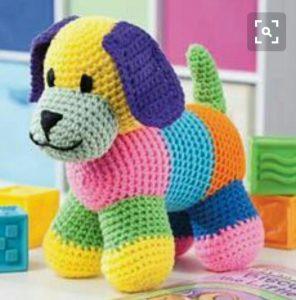 Rengaren amigurumi örgü oyuncak köpek modeli nasıl örülür