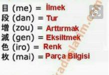 Amigurumi japonca terimlerin türkçe açıklamaları nelerdir