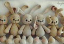 Amigurumi örgü uzun kulaklı tavşan modeli yapılışı anlatımlı