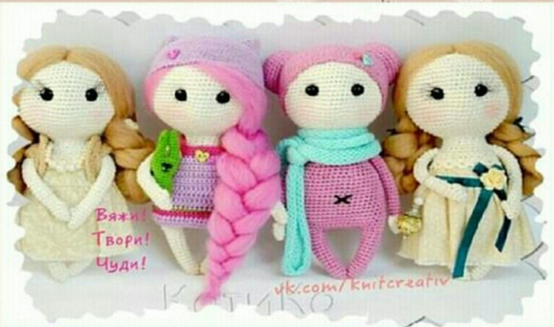 Amigurumi Bebek Tarifleri : Amigurumi Örgü Şirin kız bebek yapımı anlatımlı Örgü Örgü