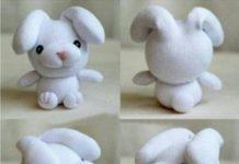Beyaz çorap ile oyuncak köpek yapılışı resimli anlatım