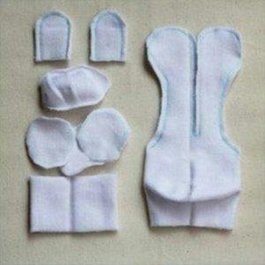 Çorap bebek yapılışı anlatımlı