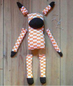 Çorap ile oyuncak yapılışı resimli anlatımlı