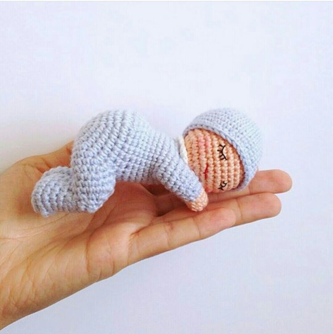 Amigurumi bebek ve resimli açıklamalı yapımı - 10marifet.org | 1083x1080