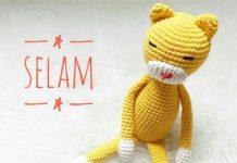 Amigurumi sarı kedicik modeli yapılışı anlatımlı