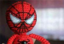 Amigurumi örgü spiderman oyuncağı yapılışı anlatımlı