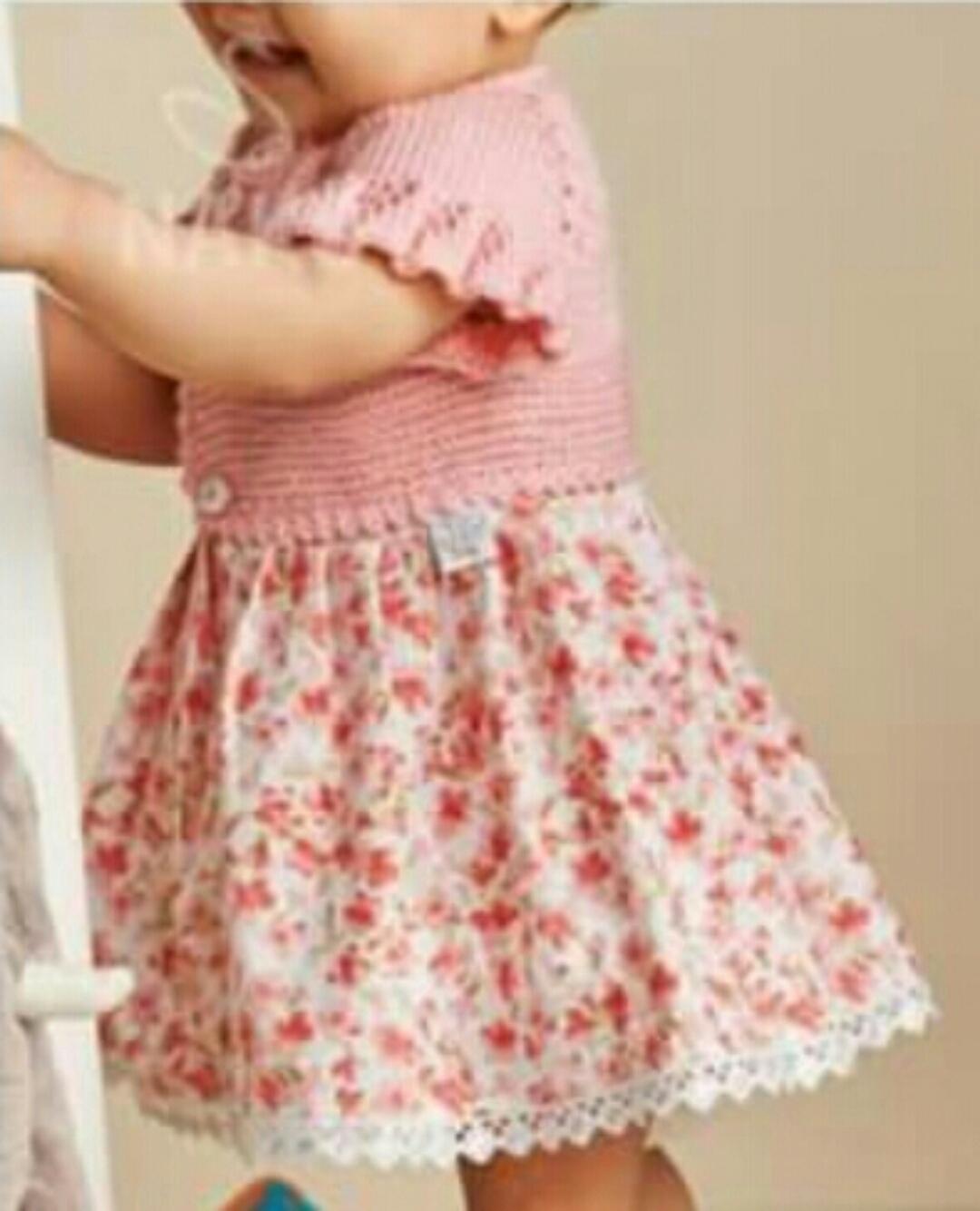 Örgü Kız Çocuk Elbisesi Yapılışı