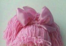 Amigurumi pembe elbiseli örgü oyuncak kız modeli yapılışı anlatımlı