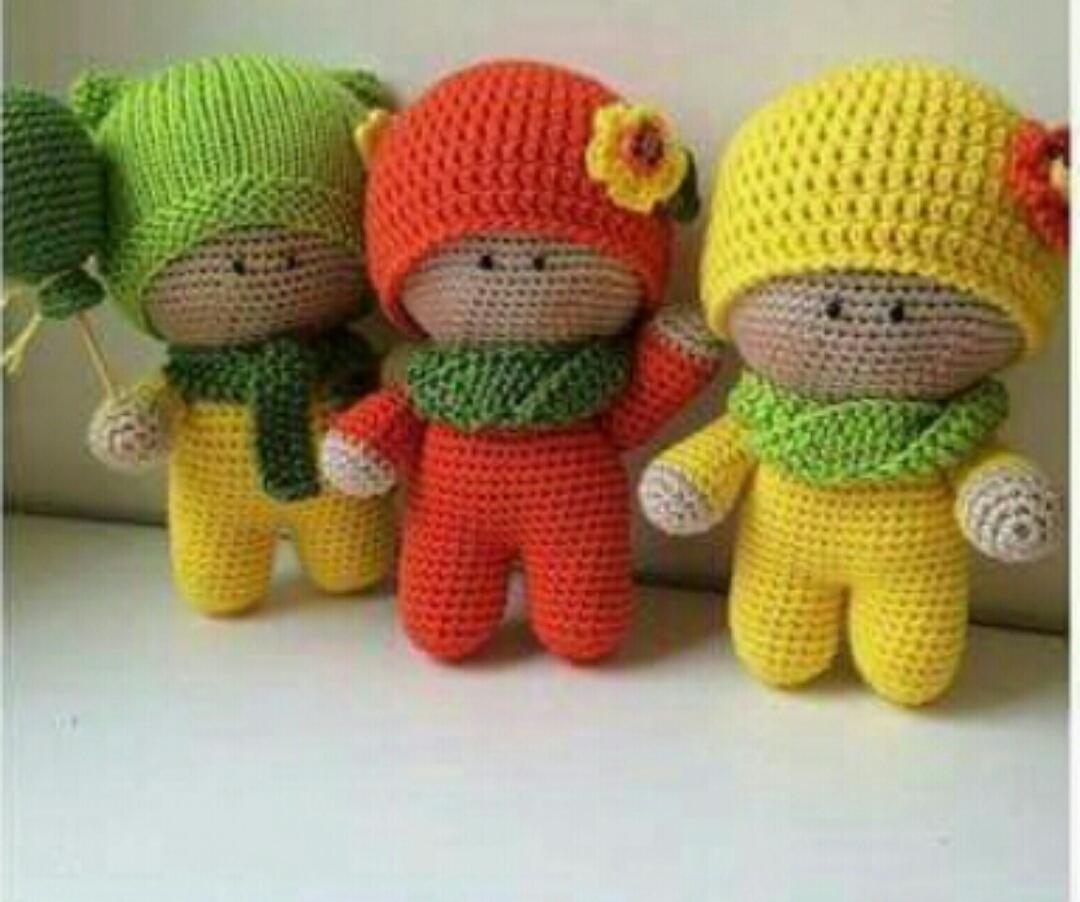 Amigurumi Free Pattern Italiano : Amigurumi Örgü oyuncak modelleri Şapkalı bebek yapılışı
