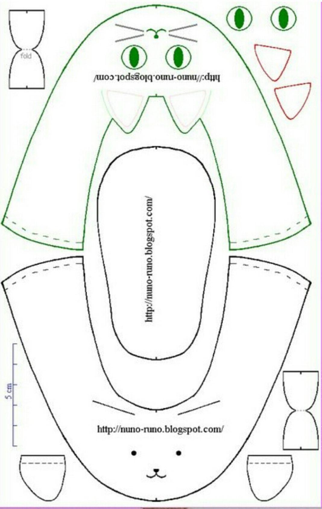 Сшить одежду для беби бона, выкройка в натуральную величину 89