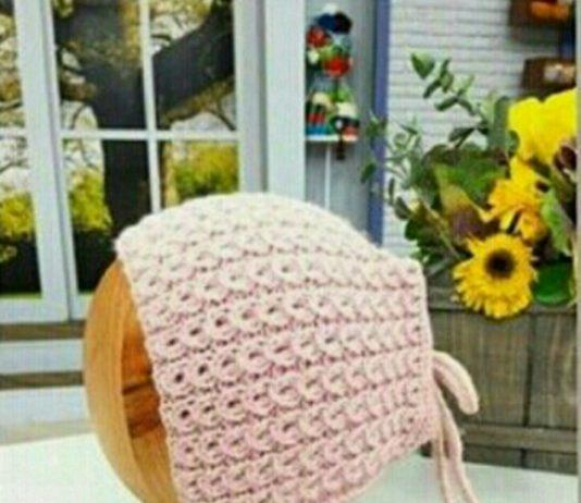 Derya baykal la gülümse - ponponlu pembe bebek şapkası modeli yapilisi anlatımlı