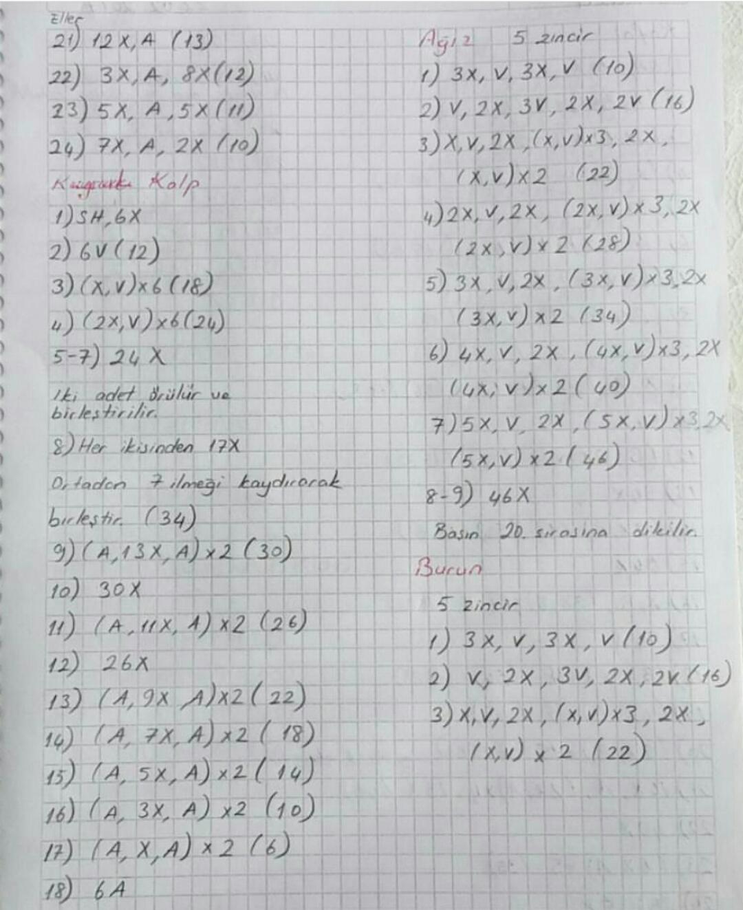 Amigurumi Elbiseli Ayıcık Ayak Yapımı part 3| Gülnur ÖZEL - YouTube | 1323x1080